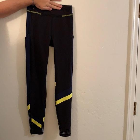 LULULEMON X ROKSANDA leggings (black/true navy)